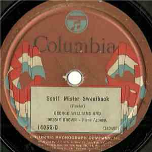 George Williams  And Bessie Brown  - Scat! Mister Sweetback / Bald-Headed Mamma Blues download free